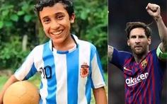 Cậu bé 12 tuổi đá phạt giống Messi gây 'sốt' trên mạng xã hội