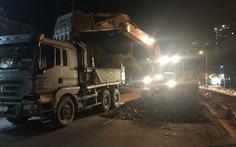 Khởi công dự án xóa ngập nước dài 5 km đường Huỳnh Tấn Phát