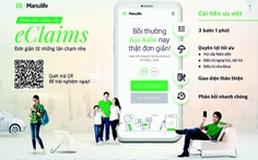 Manulife mở rộng yêu cầu nộp quyền lợi bảo hiểm bằng eClaims