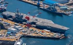 Tàu sân bay USS Ronald Reagan của Mỹ trở lại đại dương