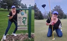 Thành tích kỳ diệu trên sân golf của nữ y tá trong mùa dịch