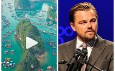 Leonardo DiCaprio đăng video về vịnh Lan Hạ, đạt hơn 1 triệu lượt xem