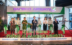 'Săn' vé bay ưu đãi tại lễ khai trương phòng vé Bamboo Airways
