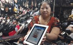 Tiểu thương U60, U70 sành điệu xài ví điện tử, chuyển khoản online