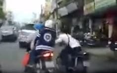 Bắt nghi phạm 'trộm xe của cướp' ở trung tâm Sài Gòn