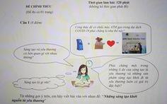 'ATM gạo' vào đề thi văn học sinh giỏi TP.HCM