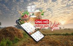 'Ủng hộ nông sản Việt': Giá siêu hấp dẫn trong ngày mở bán