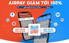 Gói ưu đãi cho người dùng AirPay tại Ngày không tiền mặt 2020