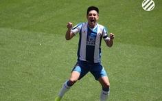 Sao Trung Quốc Wu Lei tỏa sáng giúp Espanyol giành 3 điểm quý giá