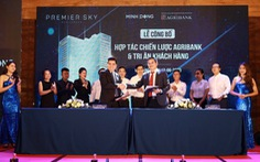 Premier Sky Residences công bố đơn vị hợp tác chiến lược - ngân hàng Agribank chi nhánh TP Đà Nẵng