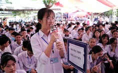 Tư vấn tuyển sinh - hướng nghiệp lần đầu đến Quảng Trị