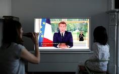 Tổng thống Pháp tuyên bố 'thắng lợi đầu tiên' trước COVID-19