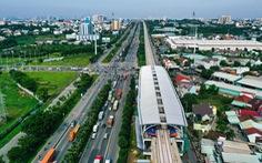 Cận cảnh các nhà ga trên cao tuyến metro Bến Thành - Suối Tiên
