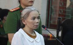 Phúc thẩm vụ nữ sinh giao gà, nữ bị cáo tóc bỗng bạc trắng sau vài tháng