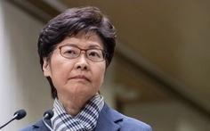 Bà Carrie Lam: 'Ai phản đối luật an ninh là kẻ thù của dân Hong Kong'