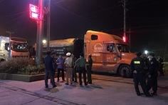 Đồng Nai xử phạt, tịch thu nhiều xe với đoàn xe chở than lậu giữa khuya