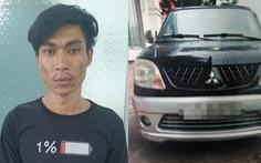 Thanh niên trộm 'xế hộp' bị phát hiện khi đang... tìm cách sửa xe