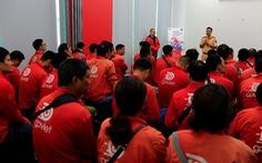 GoViet phối hợp với Công an TP.Hà Nội tập huấn, đào tạo cho đối tác tài xế