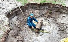 Xử lý quả bom nặng 230kg tại một trại giam ở Quảng Nam