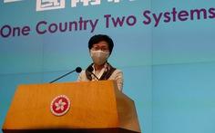 Lãnh đạo Hong Kong tố Mỹ xài 'tiêu chuẩn kép' về người biểu tình