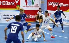 Không thể thắng Sahako, Thái Sơn Nam ra khỏi top 3 Giải futsal VĐQG 2020