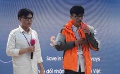 Áo khoác phao đa năng của sinh viên thắng giải cuộc thi khởi nghiệp