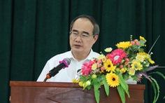Bí thư Nguyễn Thiện Nhân đề nghị sớm công bố quy hoạch khu đô thị lấn biển Cần Giờ