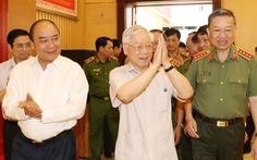 Tổng bí thư, Chủ tịch nước dự hội nghị Đảng ủy Công an Trung ương