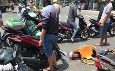 Trộm xe SH còn đâm chém trọng thương 2 người rượt đuổi ở quận Bình Tân