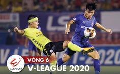 Kết quả và bảng xếp hạng vòng 6 V-League 24-6: Chiều 'mưa' phạt đền, Hà Nội vào tốp 3