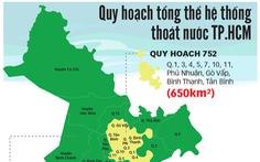 TP.HCM quy hoạch thoát nước rộng gấp 3 lần