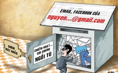 Nhờ bạn cài bảo mật hai lớp cho email, bạn cướp luôn tiền trong ví điện tử