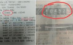 Chỉ số điện tăng vọt do 'nắng nóng vào buổi trưa nên ghi nhầm số'!
