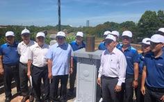 Đặt trạm đo mưa tại di tích đài thiên văn cổ duy nhất còn lại ở Việt Nam