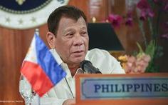 Ông Duterte: 'Hãy tuân thủ UNCLOS, tránh leo thang căng thẳng ở Biển Đông'