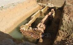 Ninh Bình phát hiện kiến trúc mộ gạch thế kỷ III sau công nguyên