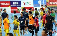 2 cầu thủ futsal bị cấm thi đấu 2 trận do xô xát ở Giải futsal VĐQG 2020