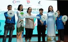 Cùng Hoa hậu Ngọc Hân làm clip 'Vì một Việt Nam xanh'