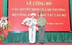 Công an tỉnh Gia Lai có giám đốc mới