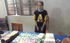 Tạm giữ người phụ nữ vận chuyển 4kg ma túy từ Campuchia về VN
