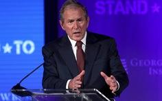 Cựu tổng thống George W. Bush: 'Hãy lắng nghe nỗi thống khổ của người Mỹ gốc Phi'