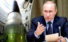 Ông Putin ký sắc lệnh cho Nga dùng vũ khí hạt nhân đáp trả 4 kịch bản