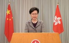 Châu Âu lên án Trung Quốc, lãnh đạo Hong Kong kêu gọi tôn trọng