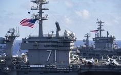 Mỹ, Trung nắn gân nhau bằng tập trận ầm ĩ trên biển