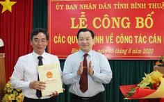 Sở Tài nguyên - môi trường Bình Thuận có giám đốc mới