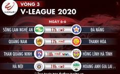 Lịch trực tiếp V-League 2020: 'Đại chiến' Hà Nội - Hoàng Anh Gia Lai