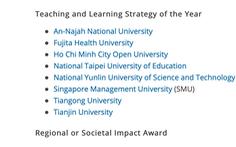 Đại học Mở TP.HCM vào vòng bình chọn Giải thưởng giáo dục châu Á 2020