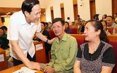 Bộ trưởng Đào Ngọc Dung: 'Đừng để tiền hỗ trợ dù rất bé lọt vào nhà quan'