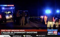 7 người nghi bị bắn chết giữa đêm trong ngôi nhà bốc cháy ở Mỹ