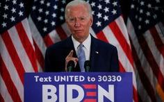 Ông Biden chính thức được đề cử bên Đảng Dân chủ đấu ông Trump